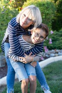 Maman et son fils